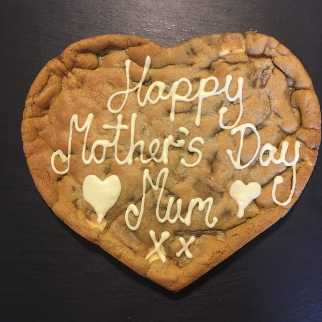 Blonde Double Chocolate Personalised Giant Cookie HAPPY BIRTHDAY