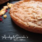Raspberry xl personalised giant cookie
