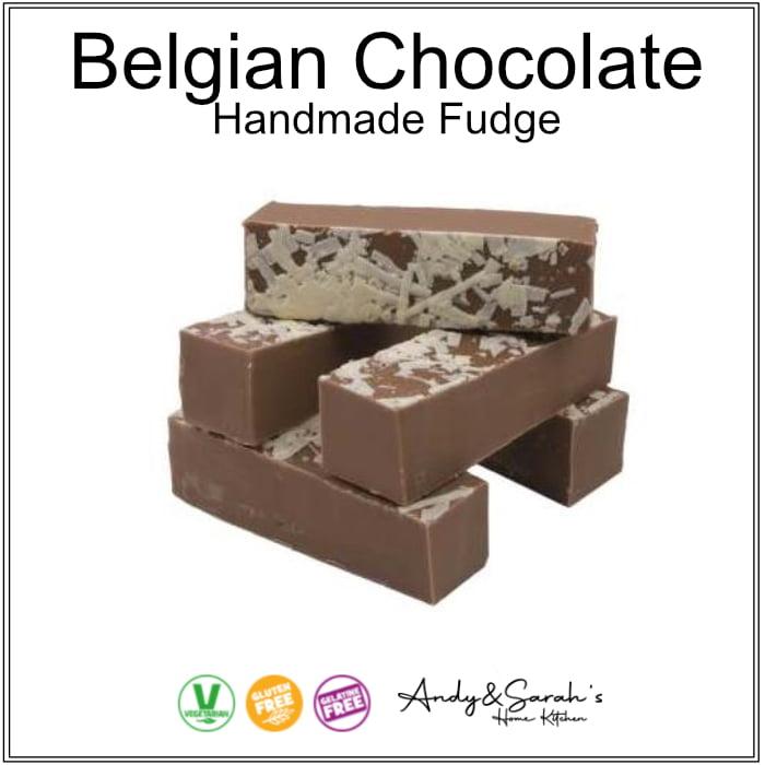 belgian chocolate hand made fudge uk
