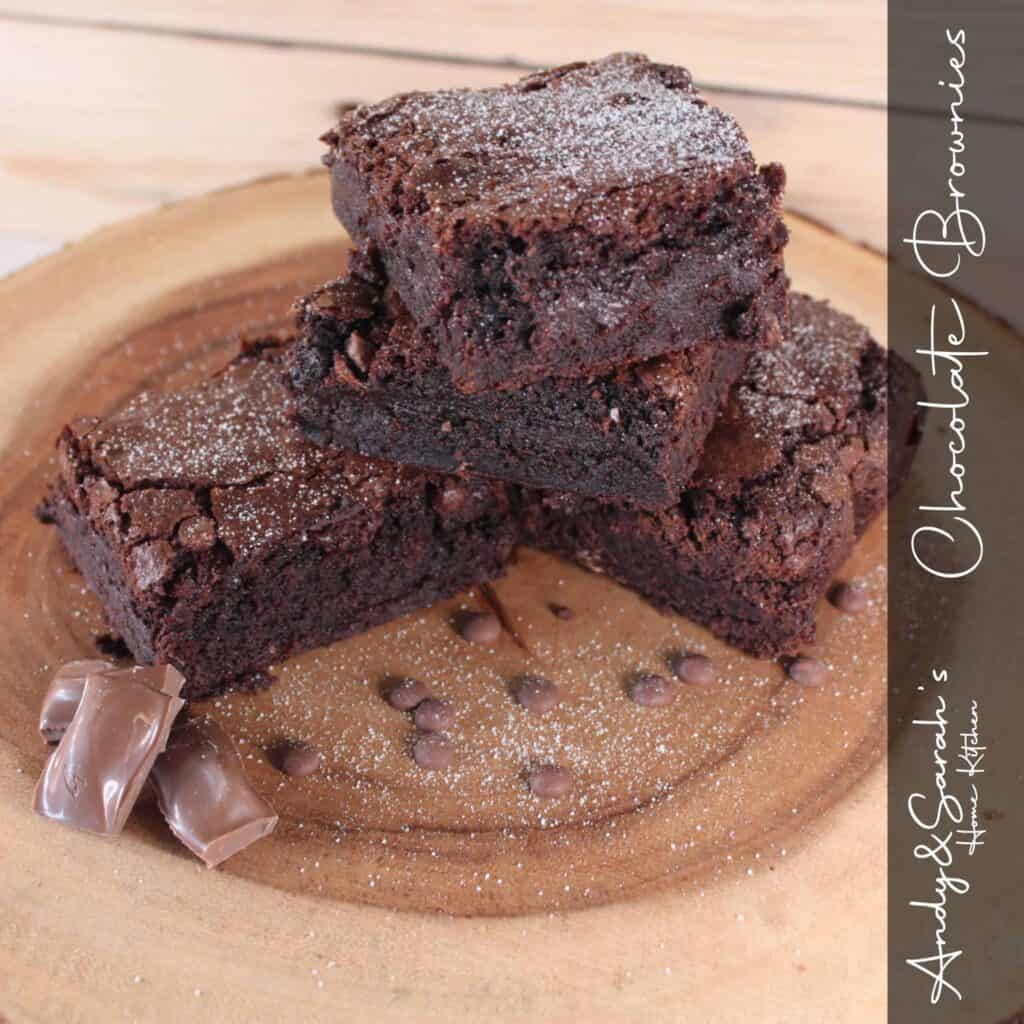 chocolate brownie slices homemade ready fro uk delivery