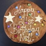 6EE6951C F65E 4714 97AA 1DEDD3DE0D27 1 201 a   Rainbow Cookie - XL Personalised Giant Cookie