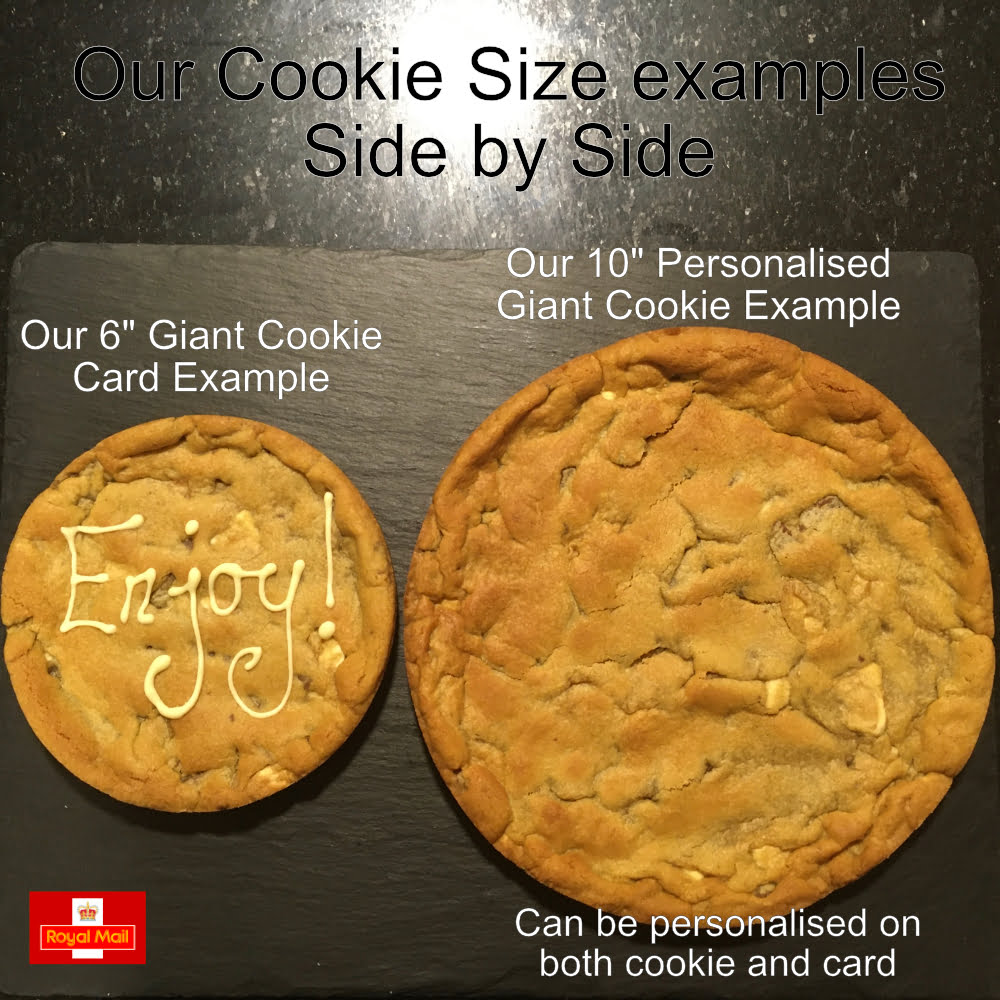 cookie size example