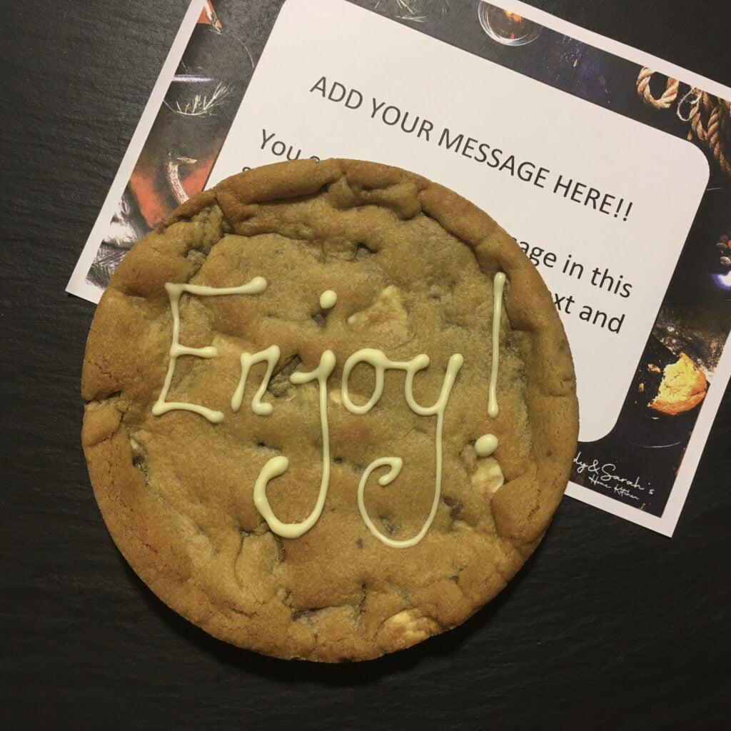 enjoy-giant-Enjoy giant cookie card 6 inch cookiecookie-card