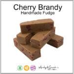 CHERRY BRANDY HAND MADE ENGLISH FUDGE