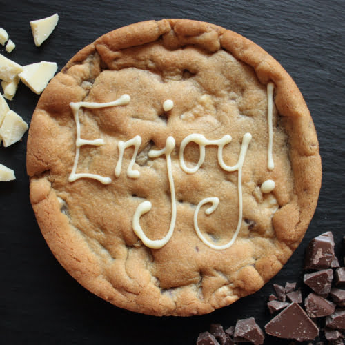 enjoy giant cookie card next day delivery uk